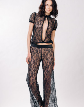 Kriss Soonik Helen Lace Trousers