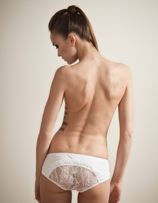 Kriss Soonik Kristel Knickers - White