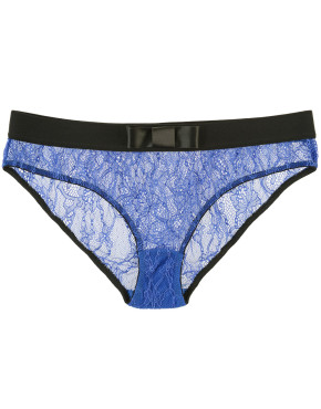 Kriss Soonik Maike Lace Knickers - Electric Blue