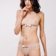 Kriss Soonik Maike Lace Knickers - nude