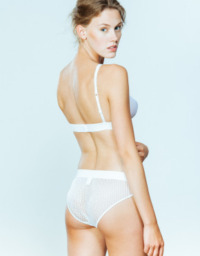 Kriss Soonik Maike Panty Fishnet in White