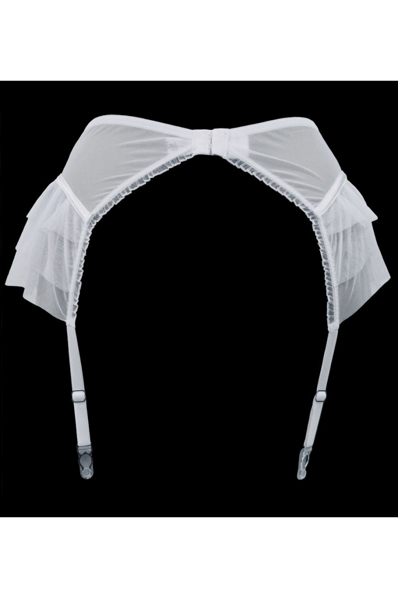 Lascivious Kitty Ivory Suspender