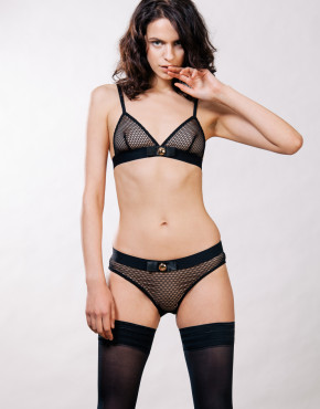 Kriss Soonik Maike Fishnet Knickers